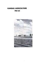Kansas Agriculture Book