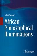 African Philosophical Illuminations Pdf/ePub eBook