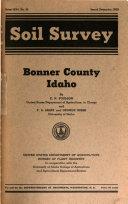 Soil Survey  Bonner County  Idaho
