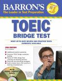 Barron's TOEIC Bridge Test with Audio CDs