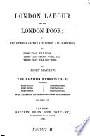 London Labour and the London Poor Book