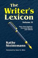 Pdf The Writer's Lexicon Volume II Telecharger