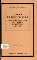 Pdf Justice et justiciables Telecharger