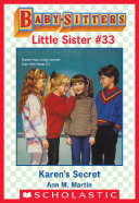 Karen's Secret (Baby-Sitters Little Sister #33) Pdf/ePub eBook