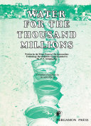 Pdf Water for the Thousand Millions