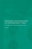 Managers and Mandarins in Contemporary China