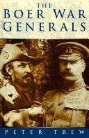 Boer War Generals Pdf/ePub eBook