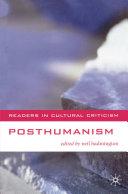 Pdf Posthumanism Telecharger