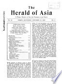 The Herald of Asia