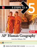 5 Steps to a 5  AP Human Geography 2019 Book PDF