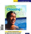Choosing Health Book
