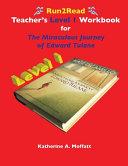 Run2Read Teacher s Level 1 Workbook for The Miraculous Journey of Edward Tulane Book
