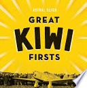 Great Kiwi Firsts