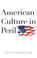 Pdf American Culture in Peril