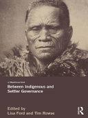 Between Indigenous and Settler Governance Pdf/ePub eBook