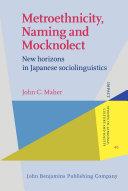 Metroethnicity, Naming and Mocknolect Pdf/ePub eBook