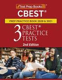 CBEST Prep Practice Book 2020 and 2021