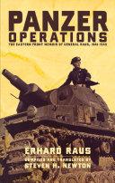 Panzer Operations Pdf/ePub eBook