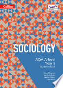AQA A Level Sociology Student Book 2  Collins AQA A Level Sociology