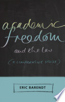 Academic Freedom and the Law