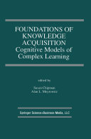 Foundations of Knowledge Acquisition Pdf