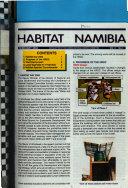 Habitat Namibia Book