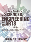 New Frontiers In Sciences Engineering And The Arts