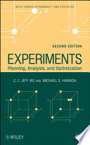 Experiments  : Planning, Analysis, and Optimization