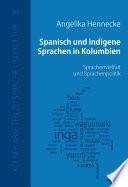 Spanisch und indigene Sprachen in Kolumbien