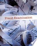 Fraud Examination Book