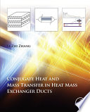 Conjugate Heat and Mass Transfer in Heat Mass Exchanger Ducts Book