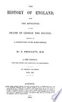 The history of England  from the Revolution to the death of George the second Book