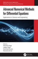 Advanced Numerical Methods for Differential Equations Book
