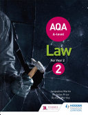 AQA A level Law for Year 2