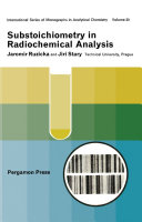 Substoichiometry in Radiochemical Analysis