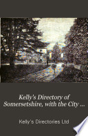 Kelly s Directory of Somersetshire Book