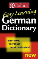 Collins easy learning German dictionary