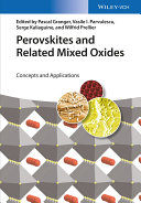 Perovskites And Related Mixed Oxides Book PDF