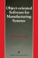 Object oriented Software for Manufacturing Systems