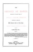 Pdf The Odyssey of Homer