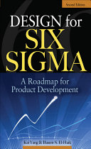 Pdf Design for Six Sigma Telecharger