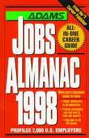 Adams Jobs Almanac 1998