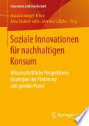 Soziale Innovationen für nachhaltigen Konsum
