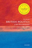 British Politics: A Very Short Introduction