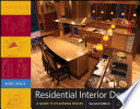 """Residential Interior Design: A Guide To Planning Spaces"" by Maureen Mitton, Courtney Nystuen"