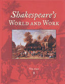 Shakespeare S World And Work H P