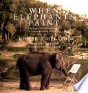 When Elephants Paint