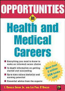 Opportunities In Health And Medical Careers Book PDF