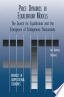 Price Dynamics in Equilibrium Models Book