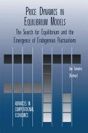 Price Dynamics in Equilibrium Models Pdf/ePub eBook